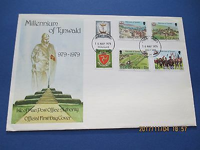 Isle Of Man, 1979, First Day Cover, Millennium Of Tynwald, See Scan