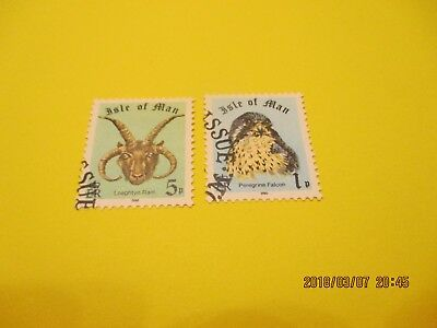 Isle Of Man 1980 Booklet Stamps, Used