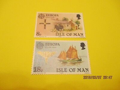 Isle Of Man, 1981, Europa Set, U/mint, See Scan, Free Postage
