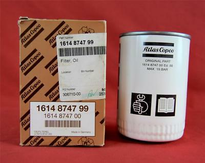 NOS OEM Atlas Copco Oil Filter Element 1614874799