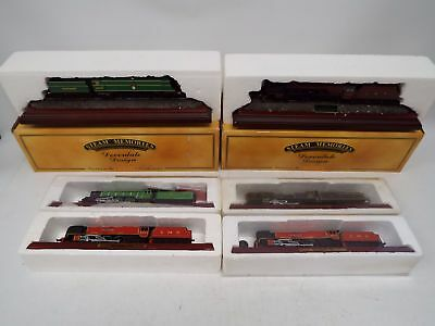 Job Lot of 6 STEAM MEMORIES Trains Cast from HORNBY OO Scale Model  - H53