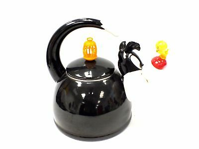 1995 Warner Brothers Looney Tunes Sylvester & Tweety Pie Kettle 33cm - H39