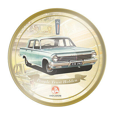 Holden EH 1963 Round Ceramic Collector Plate With Stand 27cm New In Box