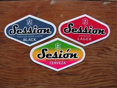 3 Full Sail Brewing Co. Stickers ~NEW Craft Beer Brew Logo Brewery Decal~ Lager