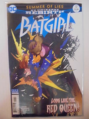 Batgirl #17 A Cover DC Rebirth NM Comics Book