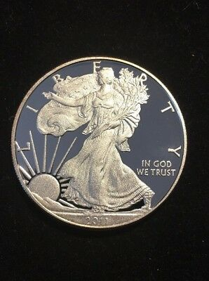 2011 Silver American Eagle Proof Coin (Stunning!)