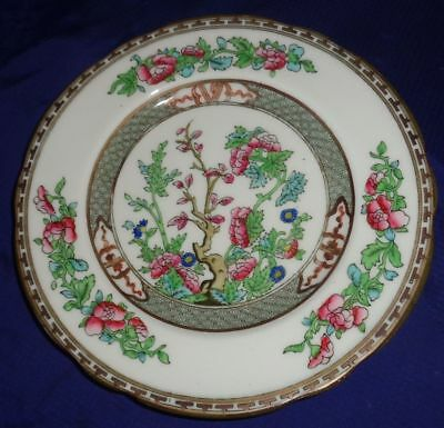 "BR1858 Coalport China Indian Tree Salad Plate 7-7/8"" Scalloped"