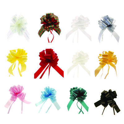 Single 50mm Ribbon Quick Pull Bow for Floristry & Gift Hampers