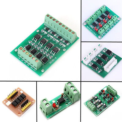 1/4/8 Channel Optocoupler Isolation Module Opto-isolator High/Low Level Board