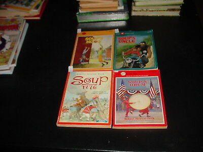 Four Soup Books by Robert Newton Peck