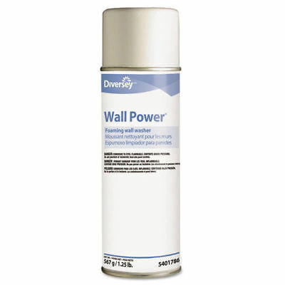 Diversey Wall Power Foaming Wall Washer, 20 Oz Can, 12/carton  95401786 New