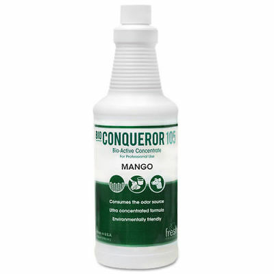 Fresh Products Bio Conqueror 105 Enzymatic Concentrate, Mango, 32oz, Bottle, 12/