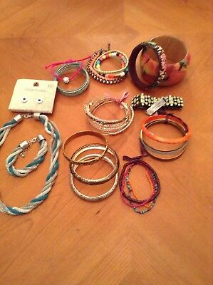 Costume jewellery job lot. Some new , River Island and more.