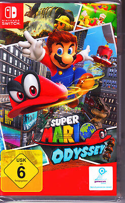 Super Mario Odyssey Nintendo Switch Spiel NEU (Jump´n´Run)
