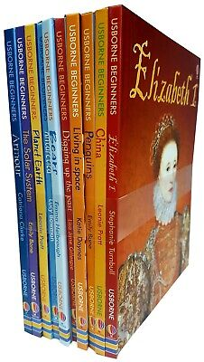 Usborne Beginners Collection 7 Books Set Bugs,Rubbish and Recycling Hardcover