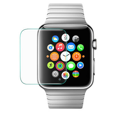 0.2mm Transparent Tempered Glass Screen Film Protector for Apple Watch 38mm