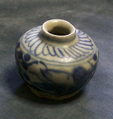 CINA (China): Old and small Chinese porcelain inkwell