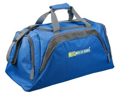 Mens Large Sports & Gym Duffle Holdall Bag SPORTS TRAVEL WORK - ROYAL BLUE 26