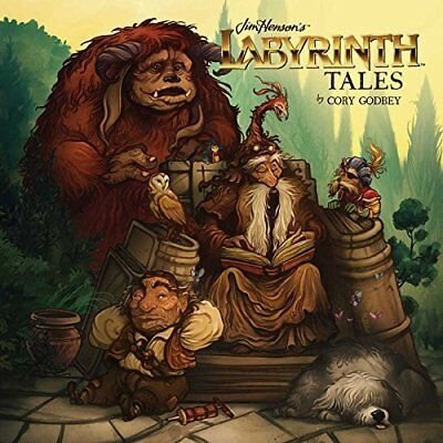 Jim Henson's Labyrinth Tales - Hardcover NEW Cory Godbey 20/10/2016