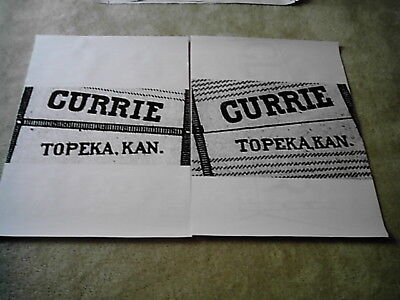 6ft or 8ft Currie Windmill Tail Vane Logo Layout for stencil