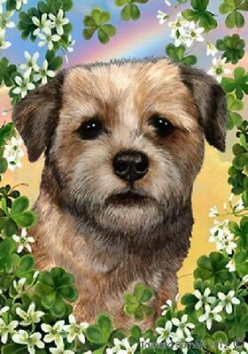 Garden Indoor/Outdoor Clover Flag - Border Terrier 311221