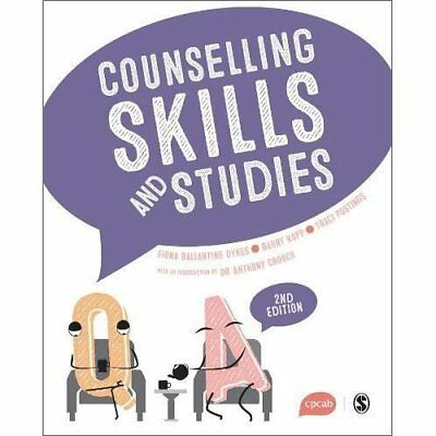 Counselling Skills and Studies - Paperback NEW Dykes, Fiona Ba 04/05/2017