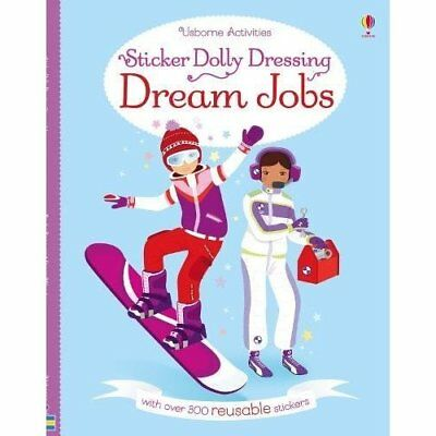 Sticker Dolly Dressing Dream Jobs - Paperback NEW