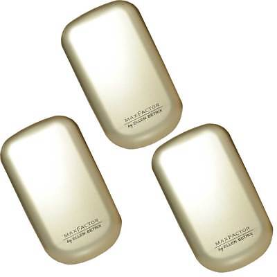 3x Max Factor Facefinity Compact Make-up 08 Toffee, 10g
