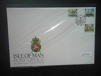 Isle Of Man 1996 Definitives Ships First Day Cover (Douglas Postmark)