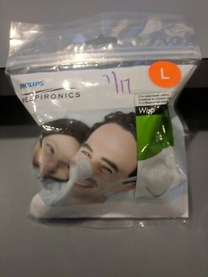New in Sealed Package Philips Respironics Wisp replacement CPAP nose cushion