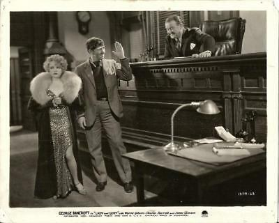Wynne Gibson Lady And Gent Original Vintage Precode Paramount Pictures Still
