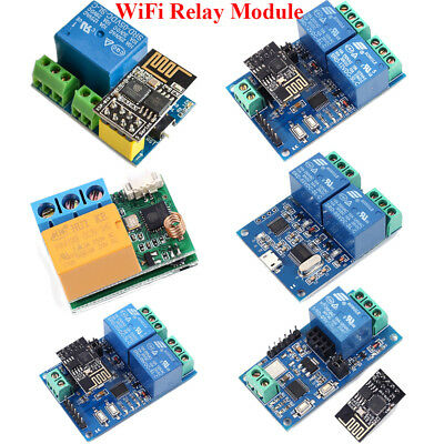 ESP8266 5V 12V IOT Wifi Relay Module Remote Control Switch Phone APP Smart Home
