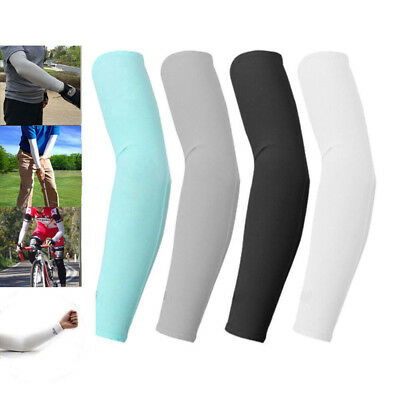 2/10 PCS Sports Tattoos Cooling arm sleeves Cycling Golf Sun UV Cover Protection