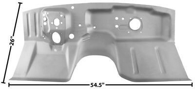 1967-68 Ford Mustang Coupe & Fastback Firewall w/ WTP New