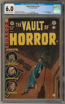 Vault of Horror #37 CGC 6.0 (OW-W) 1st Appearance of Drusilla