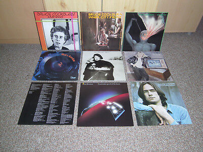 LP Bruce Cockburn Marc Jordan Joni Mitchell Van Morrison James Taylor