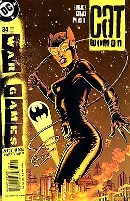 Catwoman Comic 34 DC 2004 Brubaker Gulacy Palmiotti War Games Act One Part 7 of8