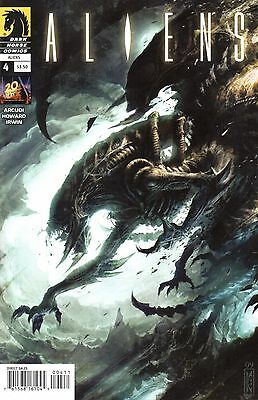 Aliens Comic 4 Dark Horse 2009 Arcudi Howard Irwin