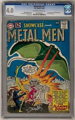 Showcase #37 CGC 4.0 (OW-W) 1st appearance of Metal Men