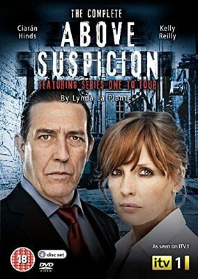 Above Suspicion The Complete Series 1 - 4  NEW 4 DVD SET Kelly Reilly