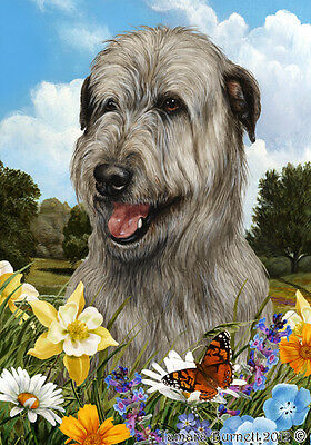 Large Pick 3 Flag Set - Grey Irish Wolfhound