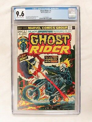 Ghost Rider #5 (1974) CGC 9.6 High Grade Marvel Comics CV15