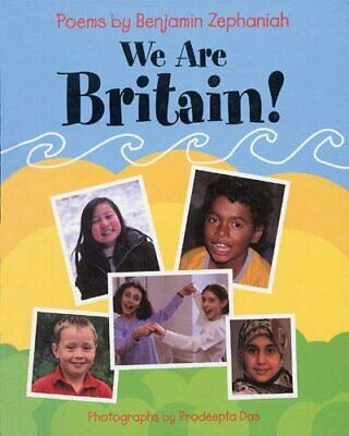 We Are Britain! by Zephaniah, Benjamin Paperback Book The Cheap Fast Free Post