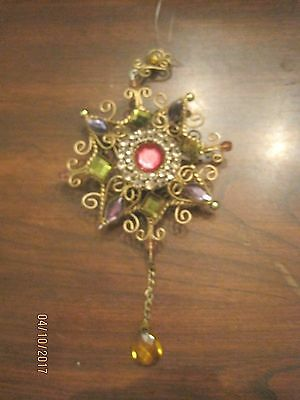 3D  Brass Beautiful Star Ornament  One Of A Kind