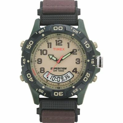 Timex T45181 Mens Expedition Rugged Outdoor Watch with Brown Nylon Strap