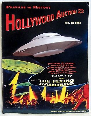 2005 Profiles In History ~ HOLLYWOOD AUCTION 23 ~ Auction Catalog 179 pgs