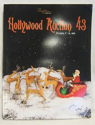 2010 Profiles In History ~ HOLLYWOOD AUCTION 43 ~ Auction Catalog 396 pgs