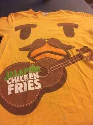 Authentic Burger King JALAPENO CHICKEN FRIES T-Shirt Size SMALL