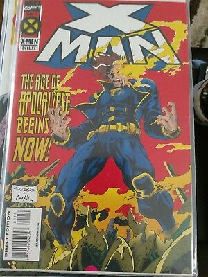 Huge X-Man Almost Complete Run #1-58, 60-75 3 Annuals, Flashback + MORE VF/NM