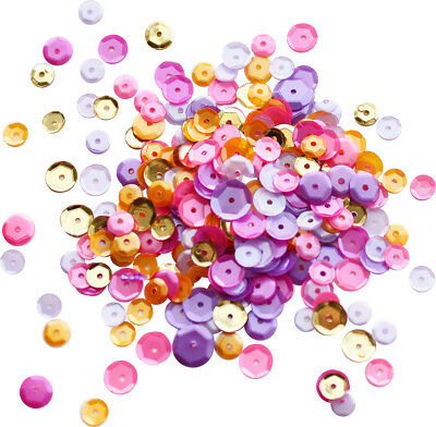 Neat & Tangled Sequin Mix-Wild Orchid
